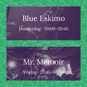 Preipop 2018 - Blue Eskimo en Mr. Memoir