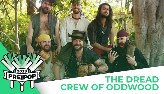 Headliner Preipop 2019: The Dread Crew of Oddwood!